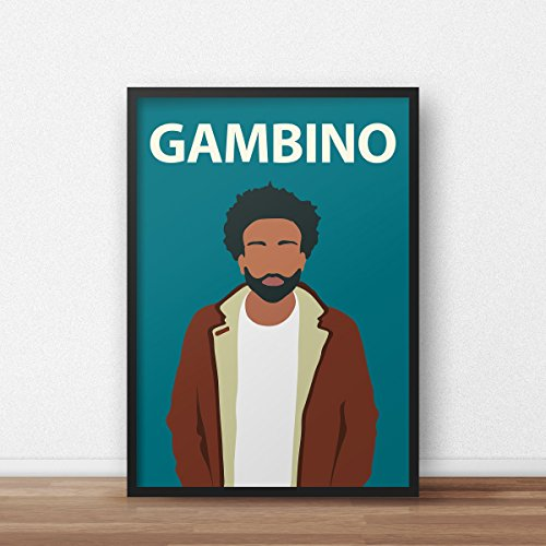 Childish Gambino / Donald Glover Poster Print - Artwork - Inspirational - Fanart