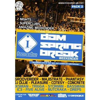 Innovation - Dam Spring Break Weekender 2014 6xCD Pack 2