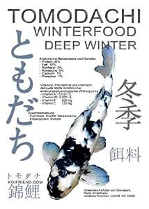 Winterfutter für Koi von Tomodachi, sinkende Koipellets schonen Kraft und Energie der Koi, 15kg