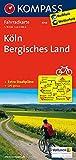 Köln - Bergisches Land: Fahrradkarte. GPS-genau. 1:70000: Fietskaart 1:70 000 (KOMPASS-Fahrradkarten Deutschland, Band 3056)