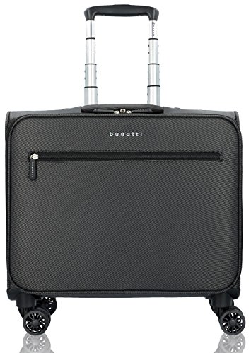 Bugatti Lima Business Trolley / Overnighter 43 cm mit Gepäckfach und Laptopfach (Trolley Business)