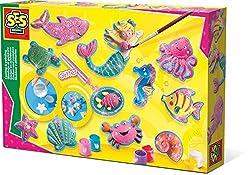 SES Creative 01354 Meerestiere gießen und anmalen