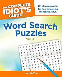 The Complete Idiot's Guide to Word Search Puzzles, Volume 3