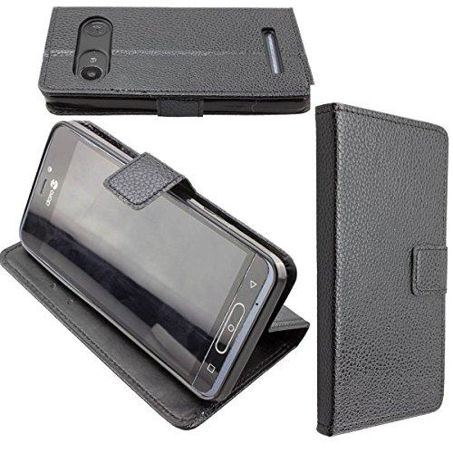 caseroxx Hülle/Tasche Bookstyle-Case Doro 8035 Handy-Tasche, Wallet-Case Klapptasche in schwarz