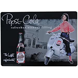 Set de Table Pepsi Pin up Scooter Pub Retro Vintage USA