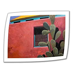 Art Wall Adobe Color 28 by 36-Inch Unwrapped Canvas Art by Rick Kersten with 2-Inch Accent Border