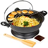 Best Electric Woks - Andrew James Electric Wok with Lid | Portable Review