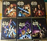 Star Wars The Complete DVD Movie Collection 1 - 6 I II III IV V VI Spanish Cover Version Episode 1 - Phantom Menace / Episode 2 - Attack Of the Clones / Episode 3 - Revenge of the Sith / Episode 4 - The New Hope / Episode 5 - The Empire Strikes Back / Episode 6 - Return of the Jedi by Ewan McGregor