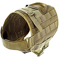Yisibo Military Tactical-Molle da addestramento per cani