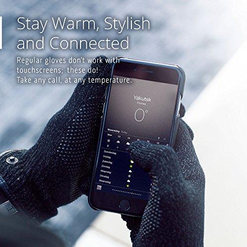 Einlagige Touchscreen-Handschuhe von Mujjo