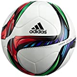 adidas Herren Fußball Conext 15, Top: White/Night Flash S15/Flash Green S15/Black; Bottom: Silver Met/Bold Flash Red S15/Light Blue, 5, M36903