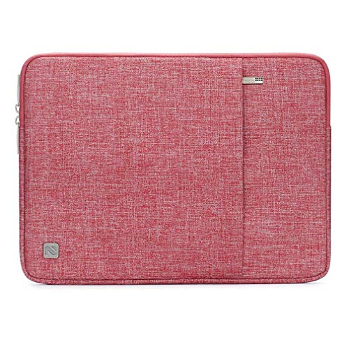 nidoo 25,4cm Laptop Sleeve Schutzhülle wasserabweisend Schutzhülle tragbar Tragetasche für 2017Neue 24,6cm iPad/iPad Pro/26,7cm iPad Pro/25,7cm Lenovo Yoga Buch/25,7cm Notebooks, Pink 10.1 Slip-fit Sleeve