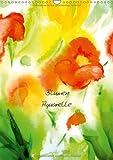 Blumenaquarelle (Wandkalender 2013 DIN A3 hoch): Aquarell-Impressionen (Monatskalender, 14 Seiten)