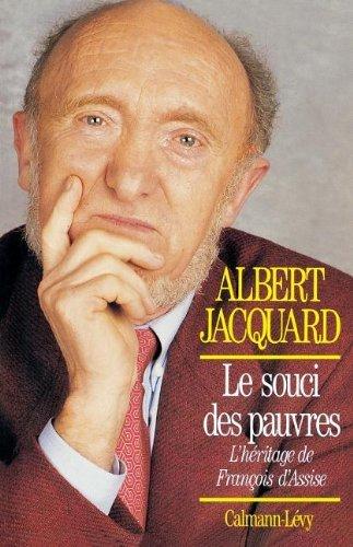 SOUCI DES PAUVRES (LE) by ALBERT JACQUARD (January 17,1996)