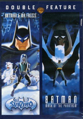 Double Feature (SubZero Batman & Mr Freeze) (Mask of the Phantasm Batman)