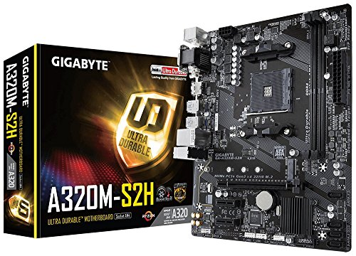 Gigabyte A320M-S2H (Socket AM4/A...