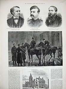 Polizia 1882 di Municipio Brighton Irlanda Dublino Baikes