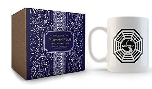 Dharma Mug inspired by Lost by Cultzilla