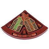 Spiele der Antike–Brettspiel, Holz Schläger Rot (Games Pico Pao 197)