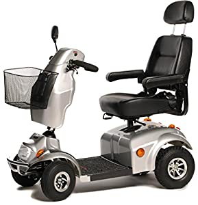 Freerider City Ranger 8 Class 3 4 Wheel Mobility Scooter - Silver
