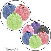 ALPIDEX Bola de magnesio 35 g ó 60 g Escalada Gimnasia Halterofilia cantidades, Cantidad:3 x 60 g, Color:Mixed Colours