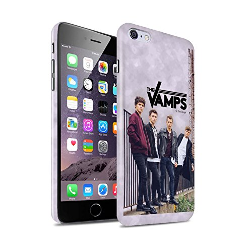 Officiel The Vamps Coque / Clipser Brillant Etui pour Apple iPhone 6+/Plus 5.5 / Pack 6pcs Design / The Vamps Séance Photo Collection Scrapbook