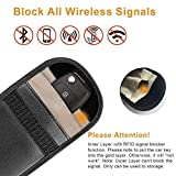 GPS Goose Signal Blocker 2 pezzi mobile e dispositivi di automobile Protect from RFID boosters & GPS Tracking schermatura radiazioni bag, Smartkey KEYLESS antifurto bloccaggio Jammer sacchetto (nero)
