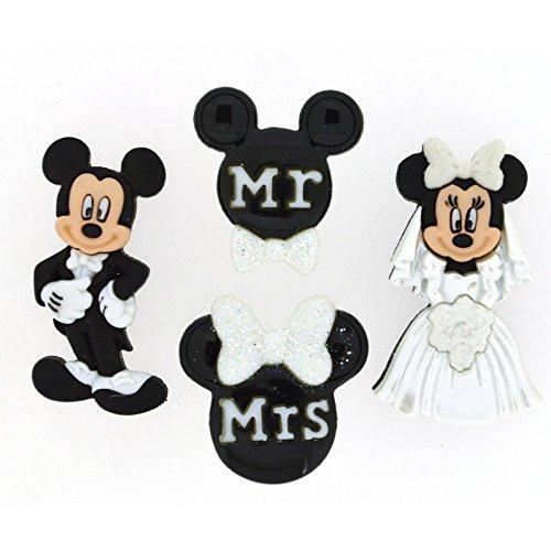 p Disney Form Neuheit Tasten Mickey & Minnie Maus Hochzeit-Pro Pack ()