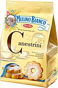 Mulino Bianco Canestrini Biscuits Sablés avec Sucre Glace 200 g