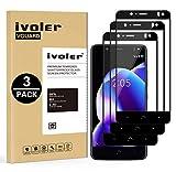 iVoler [3 Unidades] Protector de Pantalla para BQ Aquaris V Plus/BQ Aquaris VS Plus, [Cobertura Completa] Cristal Vidrio Templado Premium, [Dureza 9H] [Anti-Arañazos] [Sin Burbujas]
