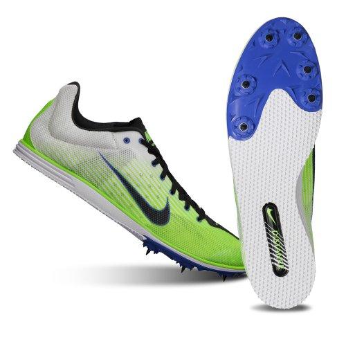 Nike Zoom Rival D 7 course à pied à pique white