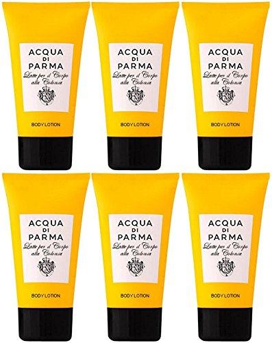 acqua-di-parma-colonia-body-lotion-6-x-40ml-travel-size-total-240ml