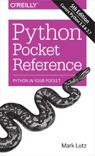 Python Pocket Reference: Python In Your Pocket (Pocket Reference (O'Reilly)) (English Edition) por Mark Lutz