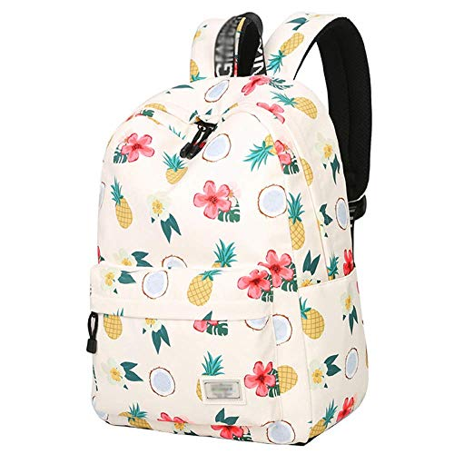 XHHWZB Teenager-Mädchen Canvas Schultasche, Kausal Light Weight Polka Dot Rucksack, Fashion Lace Racksack für 14-Zoll-Laptop, wichtig, wenn zurück in die Schule Lace Boys Oxford