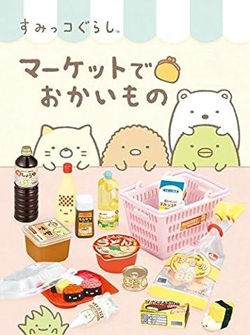 Boîte mystère Re-Ment Sumikkogurashi Supermarket,animaux miniatures,