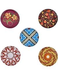 Morella–® de mujer Click Button Set 5Unidades Botones de presión y flores Ornamente