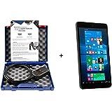 """VCDS Pro Original Ross-Tech® HEX-V2® Fehlerauslesegerät + Tablet PC 8"""" Win10 Diagnosegerät VW-Tester"""