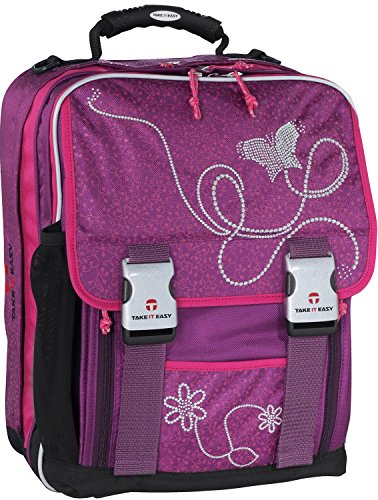 Take it Easy Schulrucksack London 40 cm marlene/lila
