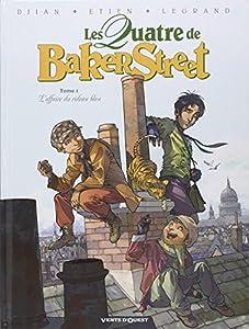 vignette de 'Les quatre de Baker Street n° 1<br /> L'affaire du rideau bleu (Jean-Blaise Djian)'