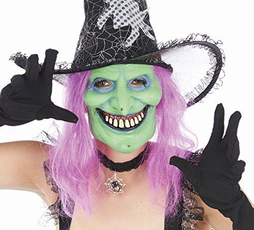 Kostüm Zubehör Maske Sumpfhexe Hexe Halloween Karneval (Sumpf Kostüme Halloween)