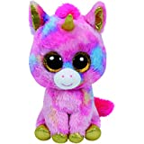 TY - Beanie Boos Fantasia, unicornio, 40 cm, color rosa (United Labels Ibérica 36819TY)