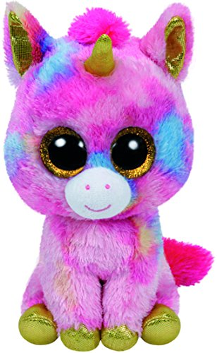 Beanie Boo Unicorn - Fantasia - Multicoloured - 42cm 16""