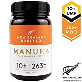 Wild Manuka Honey UMF 10+ by New Zealand Honey Co | 500g | Delicious Wild Manuka Honey UMF 10+ from the South Island of New Zealand | New Zealand's Honey Company