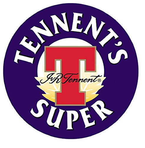 Beer Coasters to brand Tennent 'S Super Kit 50 units