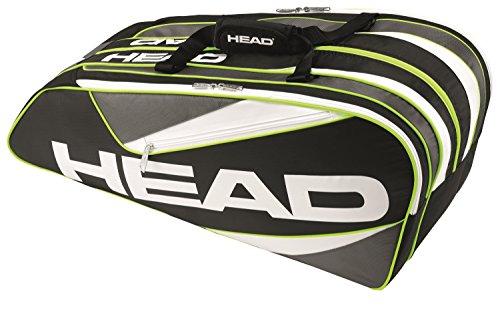 HEAD  Schlägertasche Elite 9R Supercombi, schwarz, 70 x 50 x 10 cm, 0.4 Liter, 283366-BKAN