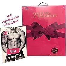 Douglas Adventskalendar 24 Luxus Momente Dufte-Adventskalender für Damen mit gratis Chippendales sexy Adventskalender (1Stk)