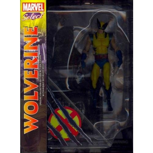 Marvel-Select-Wolverine-Action-Figure