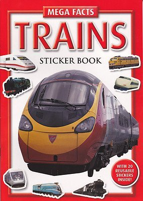 Best Price TRAINS Sticker Book (Mega Facts)