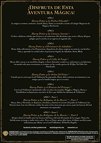 51HBUjb4cHL - Harry Potter Colección Completa Ed19 [DVD]