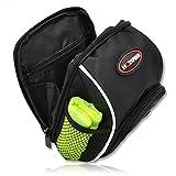 Lenkertasche/Satteltasche für Fahrräder, Mountainbikes oder Roller, mit Regenschutz